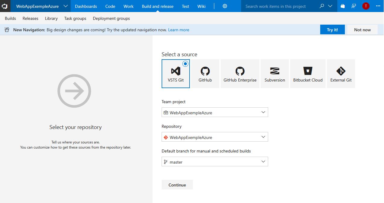 21 - Microsoft Visual Studio Team Services