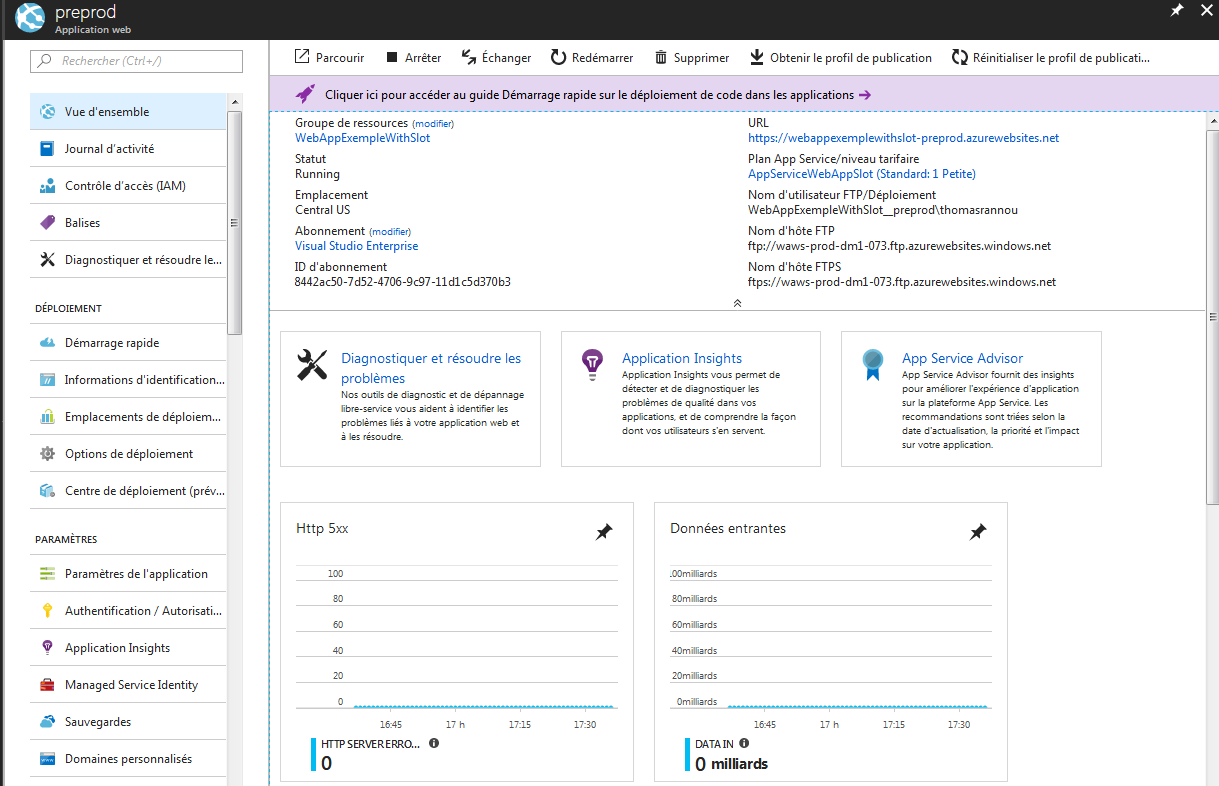 13 1 - Azure Web App Deployment Slots
