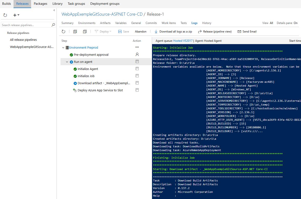 25 1 - Azure Web App Deployment Slots