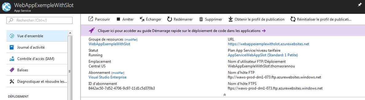 27 1 - Azure Web App Deployment Slots