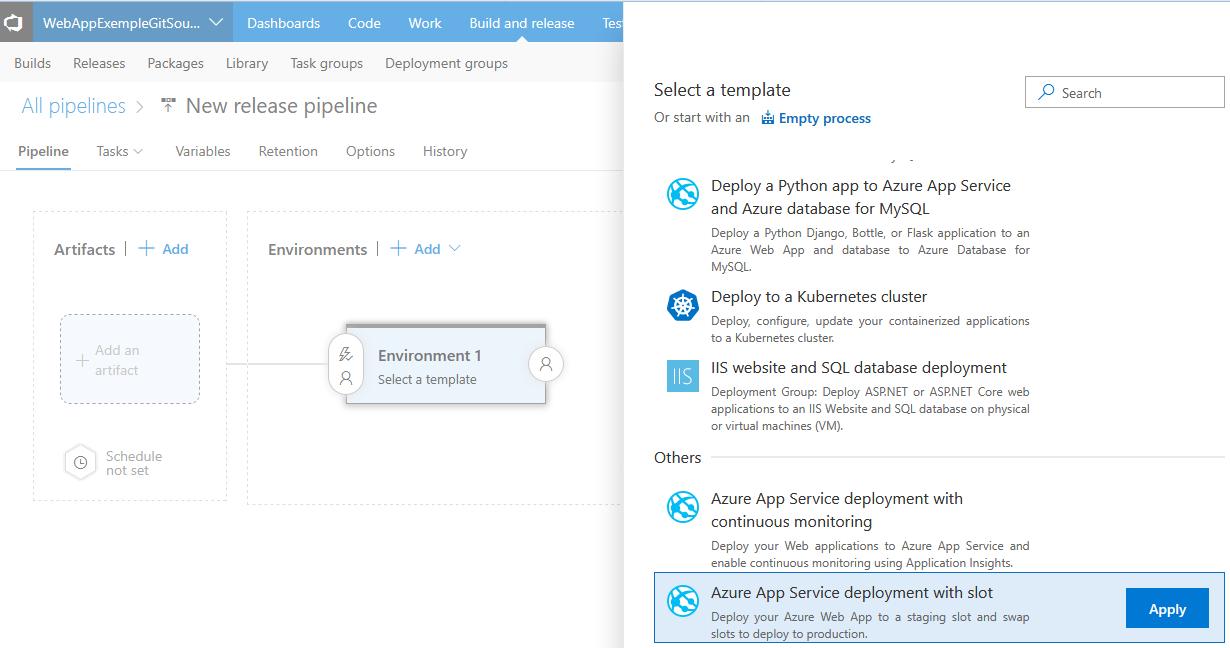 7 1 - Azure Web App Deployment Slots