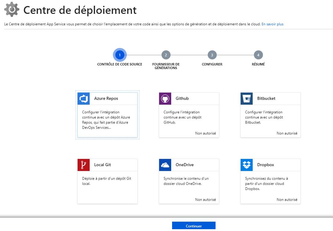 4 - Centre de déploiement et DevOps Project