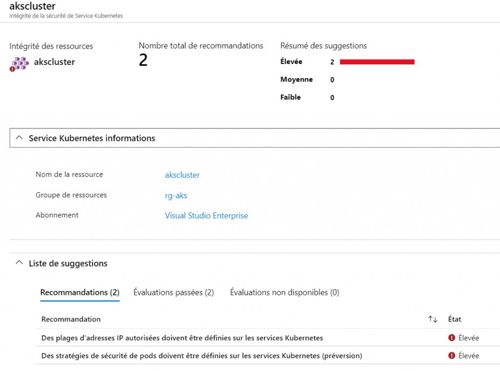 3 1024x760 - Azure Security Center pour ACR et AKS