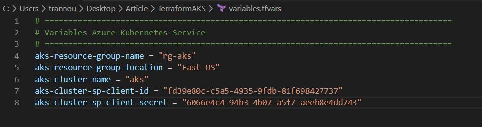 4 - Provisionner avec Terraform un cluster AKS avec Availability Zone