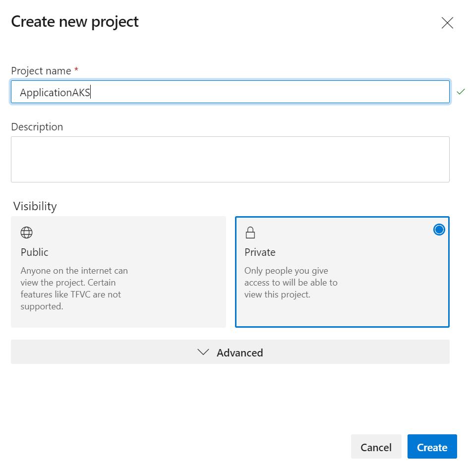 1 1 - Configurer un pipeline CI/CD Azure DevOps pour déployer dans AKS