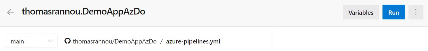 10 1 - Configurer un pipeline CI/CD Azure DevOps pour déployer dans AKS