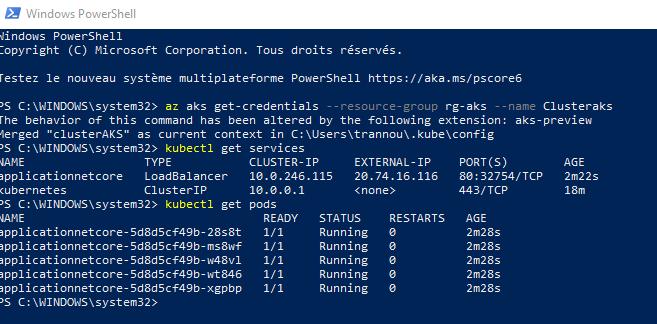 15 2 - Configurer un pipeline CI/CD Azure DevOps pour déployer dans AKS