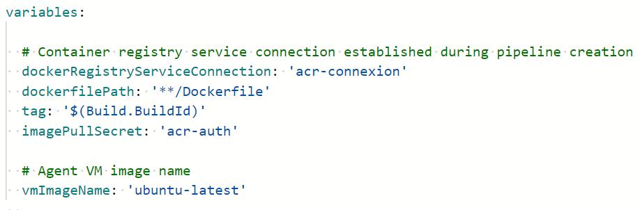 16 1 - Configurer un pipeline CI/CD Azure DevOps pour déployer dans AKS