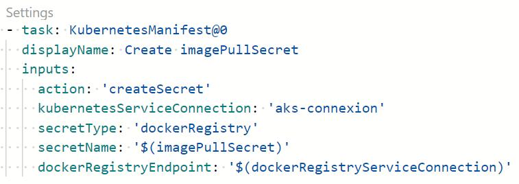 19 1 - Configurer un pipeline CI/CD Azure DevOps pour déployer dans AKS