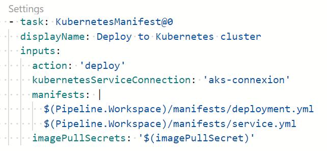 20 1 - Configurer un pipeline CI/CD Azure DevOps pour déployer dans AKS