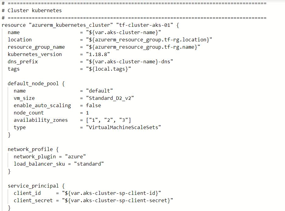 6 - Automatiser le déploiement d'un AKS avec Terraform et Azure DevOps !