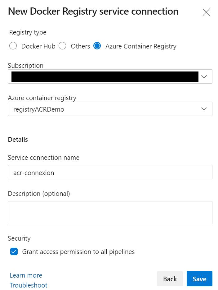 8.1 - Configurer un pipeline CI/CD Azure DevOps pour déployer dans AKS