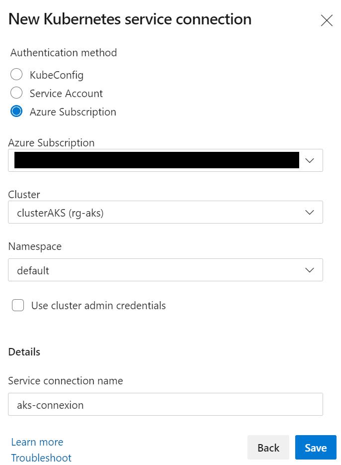 9 - Configurer un pipeline CI/CD Azure DevOps pour déployer dans AKS