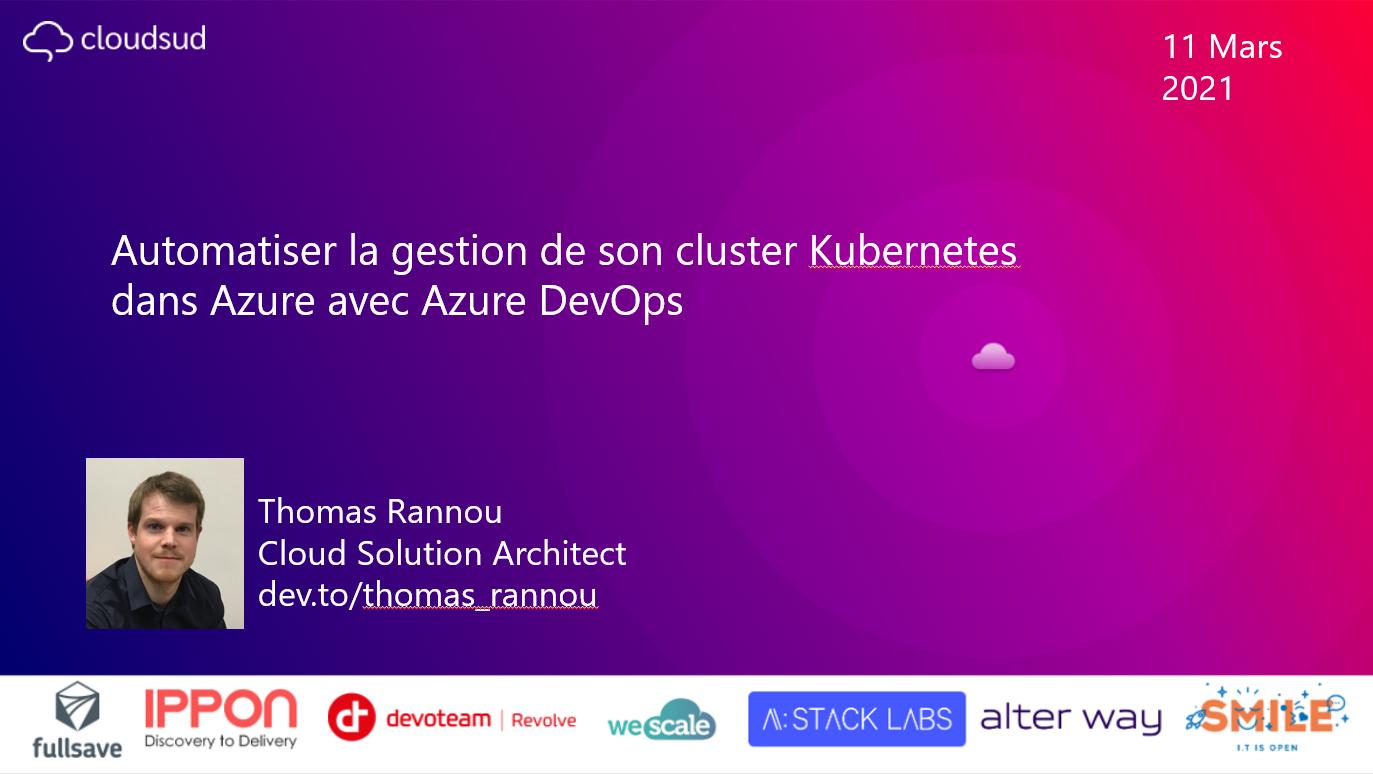 slide - Conférence Cloud Sud 2021