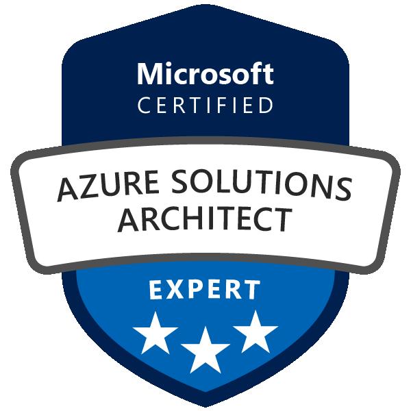 azure solutions architect expert 600x600 1 - Microsoft Azure Solutions Architect Expert