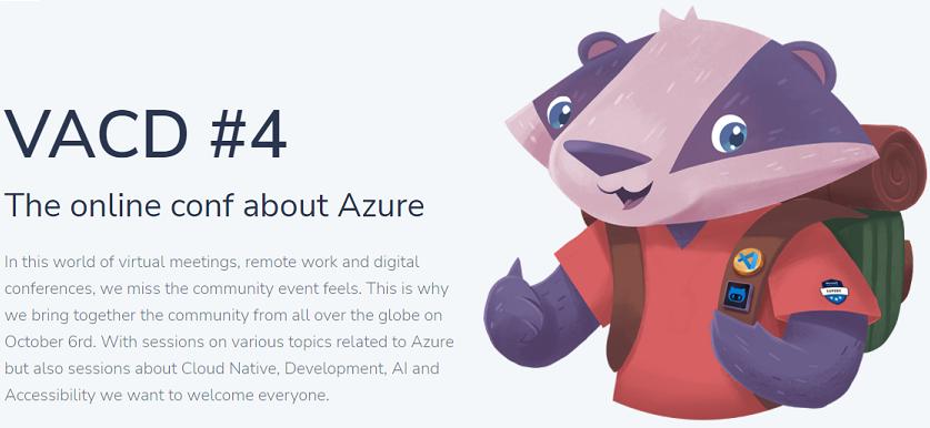 vacd4 - Virtual Azure Community Day #4